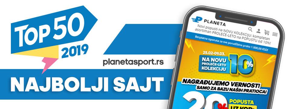 Planeta Sport - najbolji sajt u 2019. godini