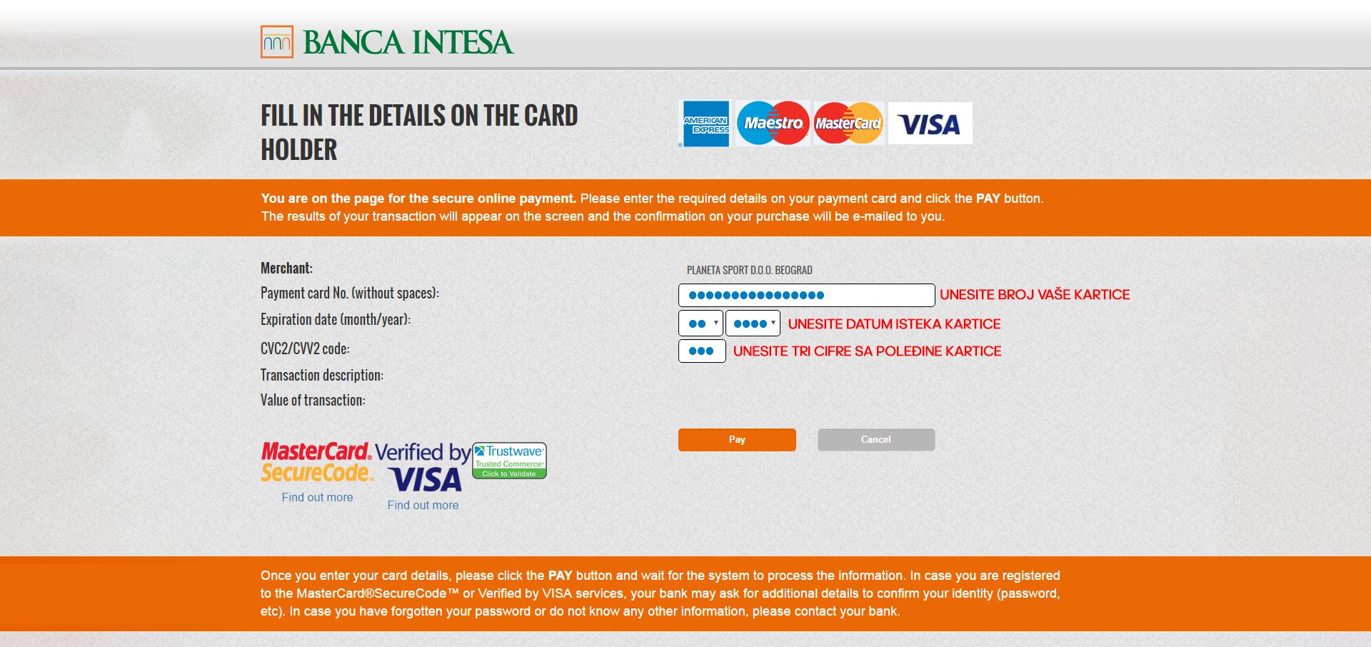 Banka intesa online provera racuna